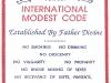 Modest code